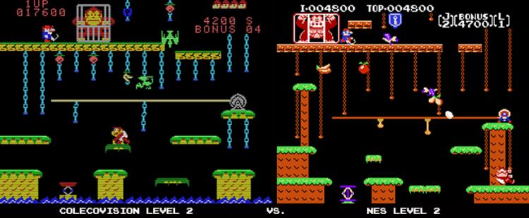 ColecoVision vs NES